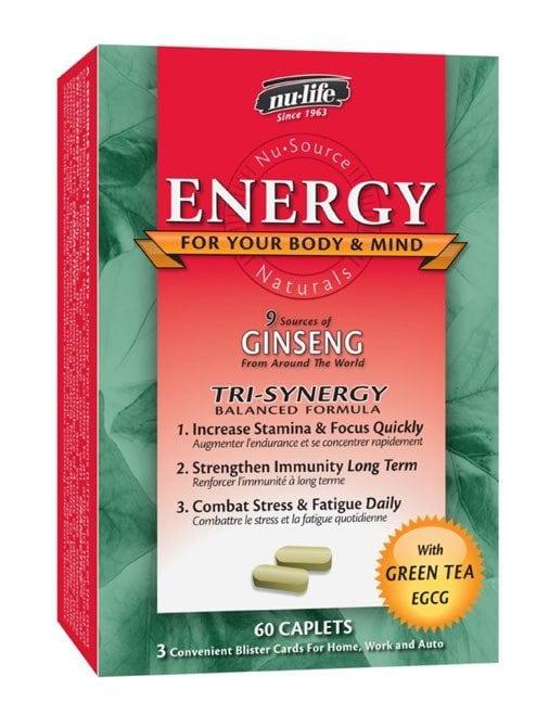 Health Essentials Nulife Energy 60's