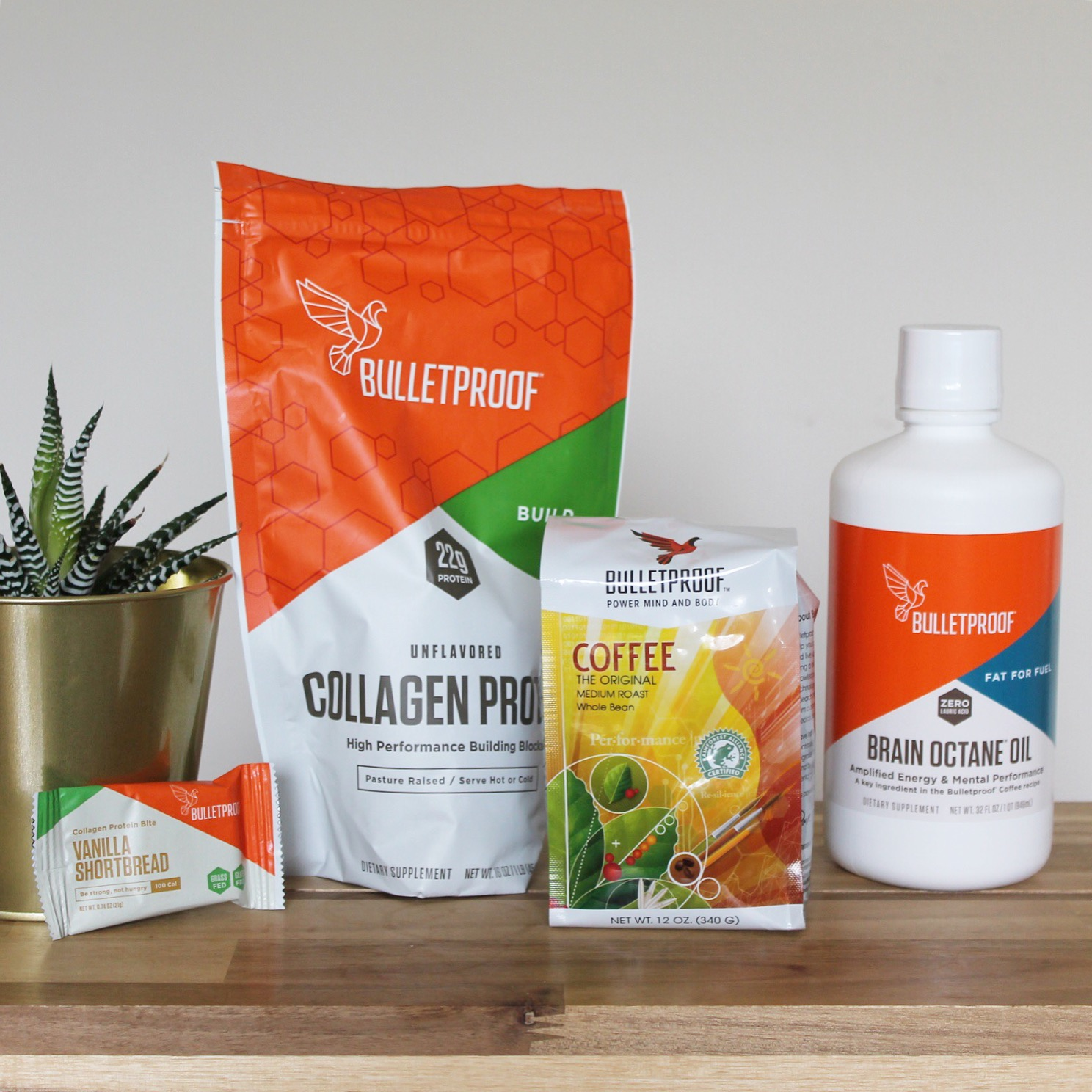Bulletproof products are on sale