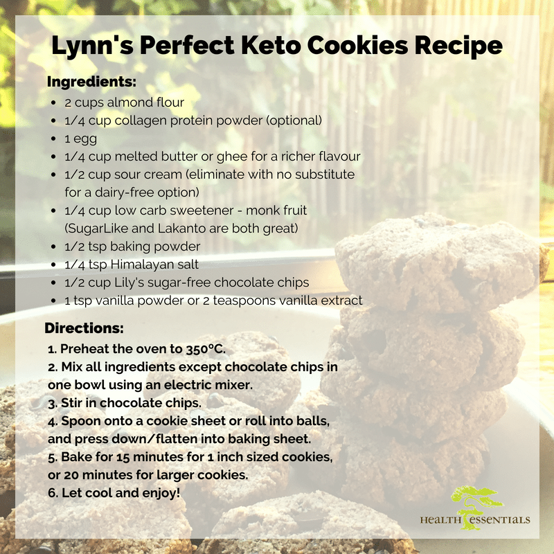 Lynn's Perfect Keto Cookies Recipe